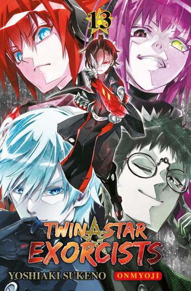 Twin Star Exorcists: Onmyoji 13 Cover