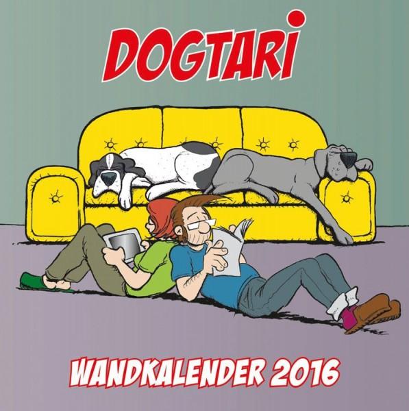 Dogtari - Wandkalender (2016)