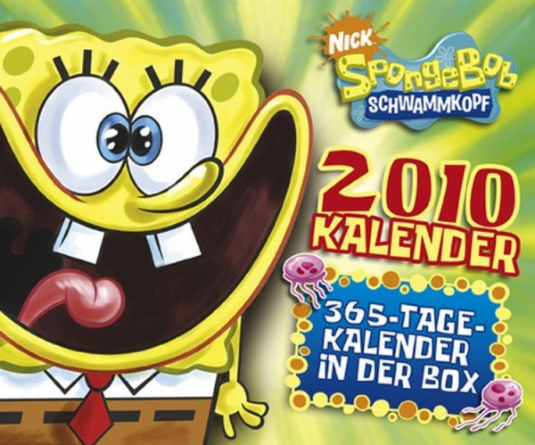 Spongebob 365-Tageskalender in der Box (2010)