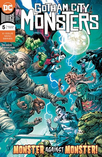 Gotham City Monsters Hardcover
