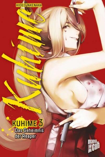 Kuhime 3: Das Geheimnis der Reaper Cover