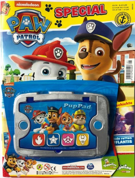 Paw Patrol Special 01/19