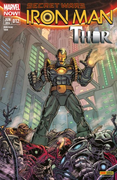 Iron Man/Thor 12