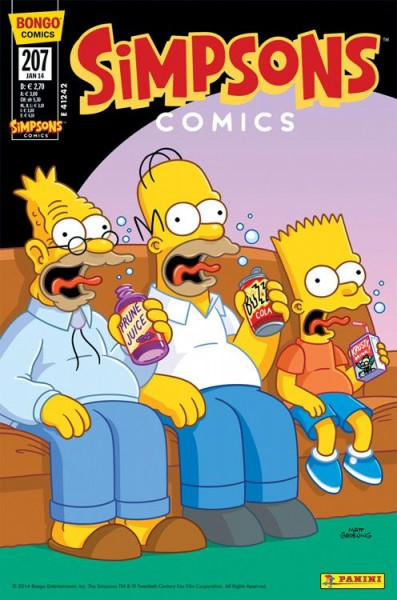 Simpsons Comics 207