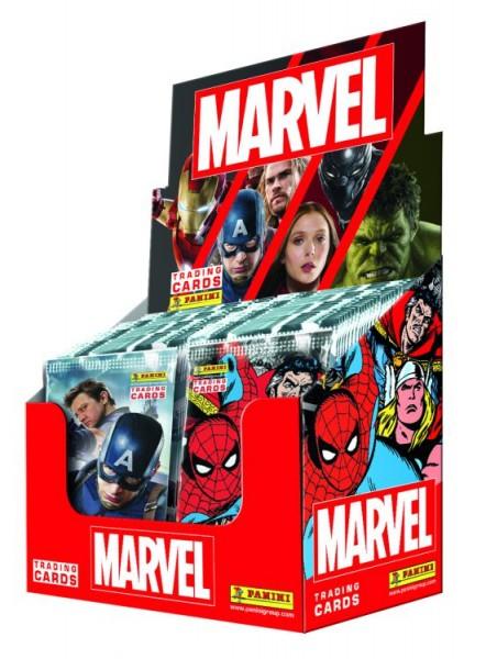 Marvel Heroes Trading Card - Box mit 24 Tüten