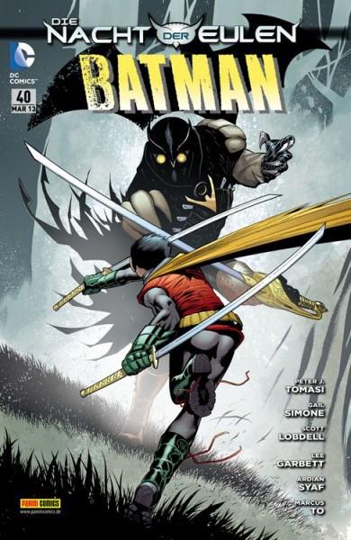 Batman Sonderband 40: Die Nacht der Eulen