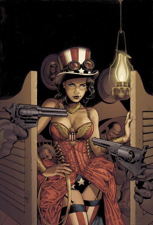 Wonder Woman 4 - Steampunk Comic...
