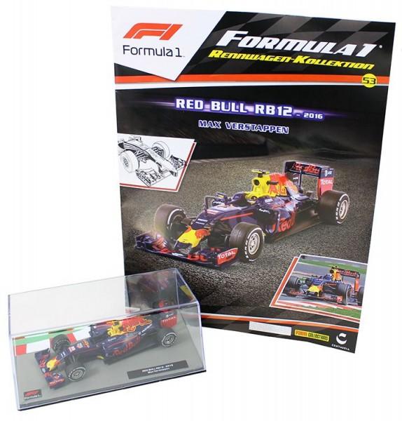 Formula 1 Rennwagen-Kollektion 53: Max Verstappen (Red-Bull-rb12)