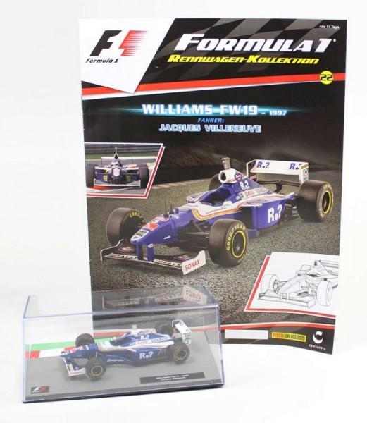 Formula 1 Rennwagen-Kollektion 22: Jacques Villeneuve (Williams Fw 19)
