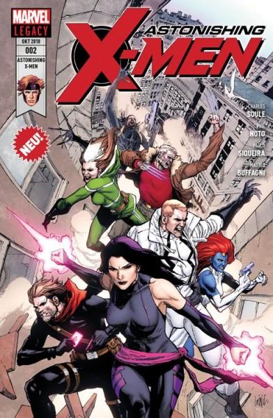 Astonishing X-Men 2: Ein Mann Namens X