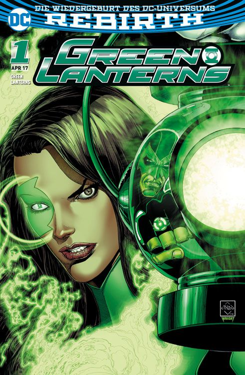 Green Lanterns 1 Variant