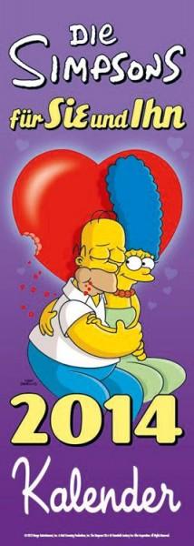 Simpsons - Paarplaner 2014