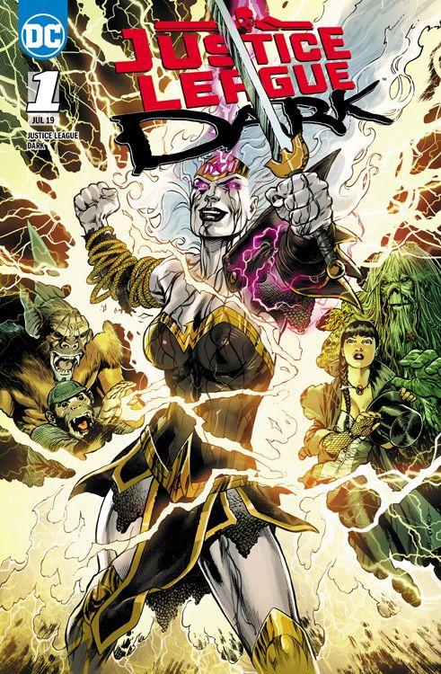 Justice League Dark 1: Hexenstunde...