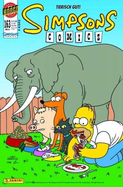 Simpsons Comics 163