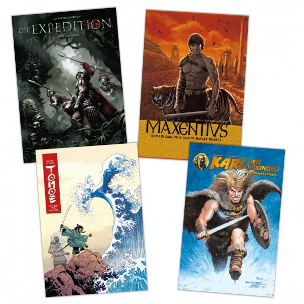 Alben-Comics: Historien-Bundle