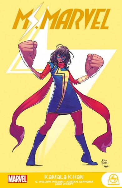 Ms. Marvel: Kamala Khan Cover
