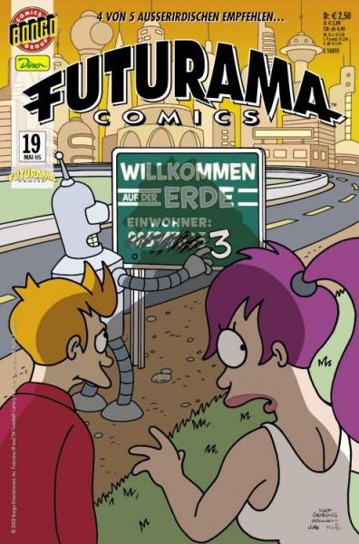 Futurama Comics 19