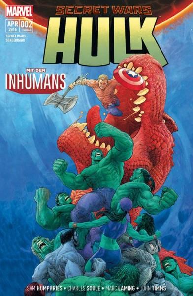 Secret Wars Sonderband 2: Hulk/Inhumans