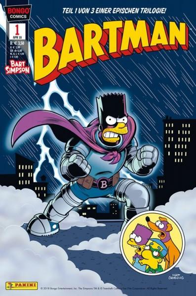 Simpsons Comics präsentiert: Bartman Trilogie 1