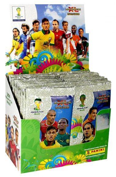 FIFA World Cup Brasilien 2014 Adrenalyn XL TCG - 50 Booster