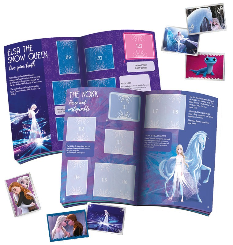 Disney: Die Eiskönigin 2 - Cristal Edition - Sticker und Cards Innenseite Album