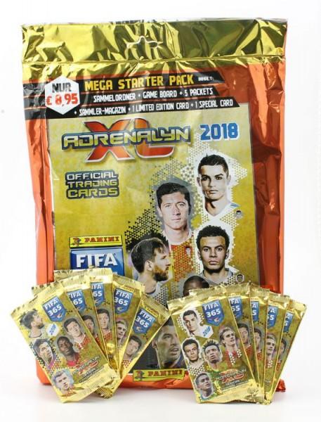Panini FIFA 365 2018 Adrenalyn XL Trading Cards - Bundle 1
