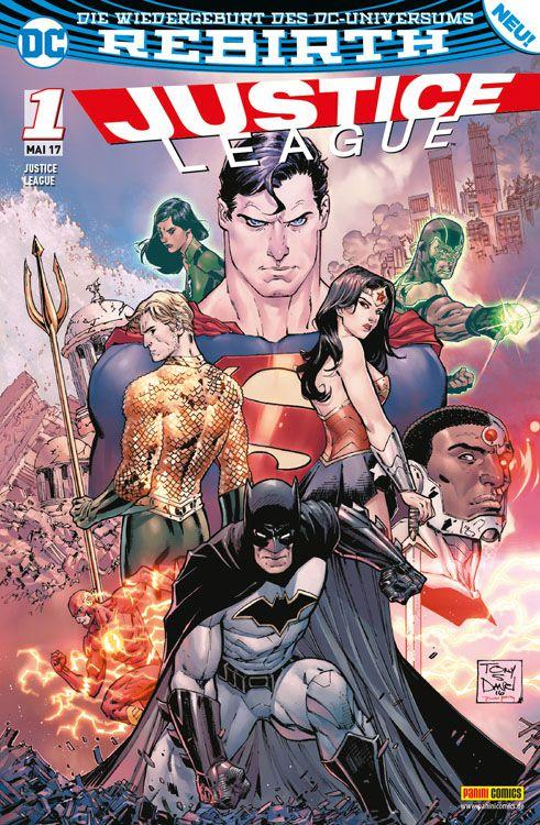 Justice League 1 (2017)