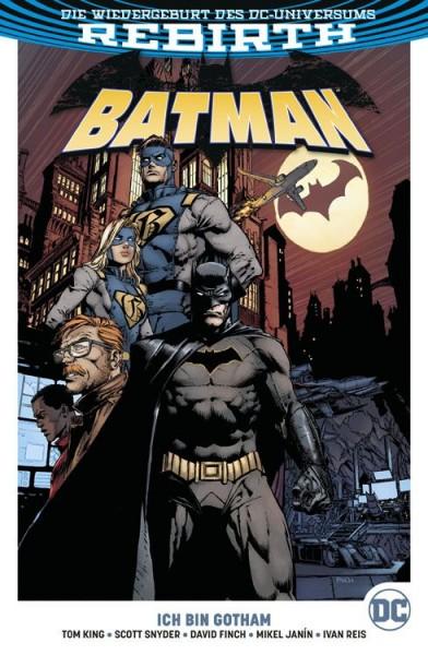Batman Paperback 1: Ich bin Gotham Cover