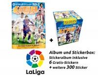 Panini La Liga 2020/21 Stickerkollektion - Box-Bundle