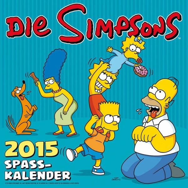 Simpsons - Wandkalender (2015)
