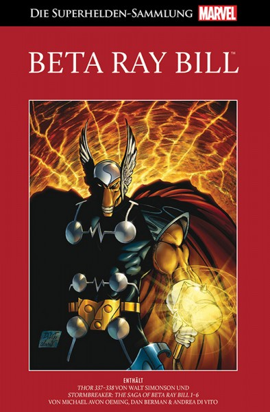 Die Marvel Superhelden Sammlung Band 83: Beta Ray Bill Cover