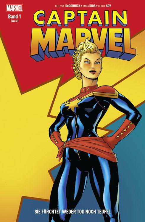 Captain Marvel: Sie fürchtet weder...