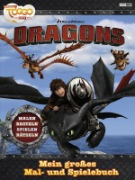 Dragons - Das grosse Mal- und Spielbuch