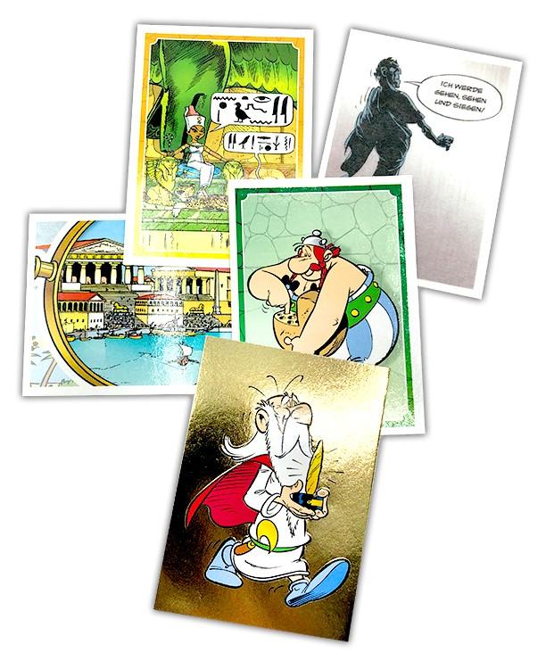 Asterix: 60 Jahre Abenteuer - Sticker Beispiel