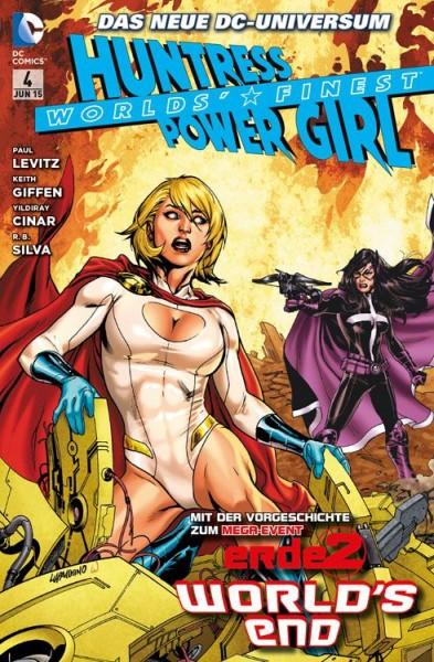 Worlds' Finest: Huntress & Power Girl 4