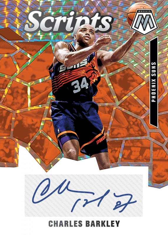 NBA Basketball Mosaic Trading Cards 2019/20 - Charles Barkley