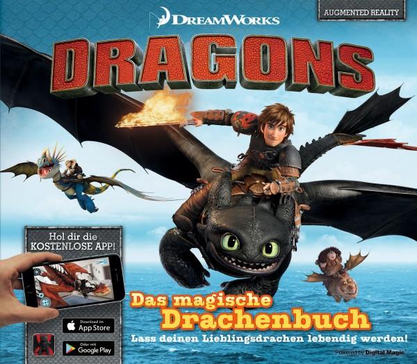 Dragons - Das magische Drachenbuch: Lass deinen Lieblingsdrachen lebendig werden!