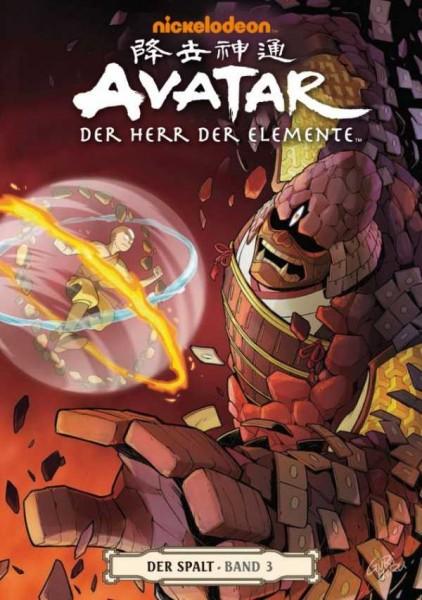 Avatar - Der Herr der Elemente 10 : Der Spalt 3 - Cover