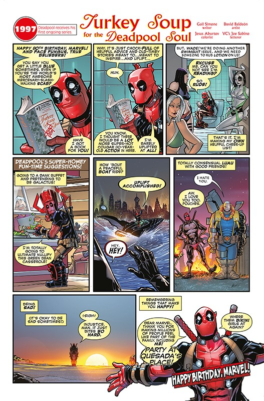 Marvel Comics 1000 – Blick in den Comic Vorschauseite 4