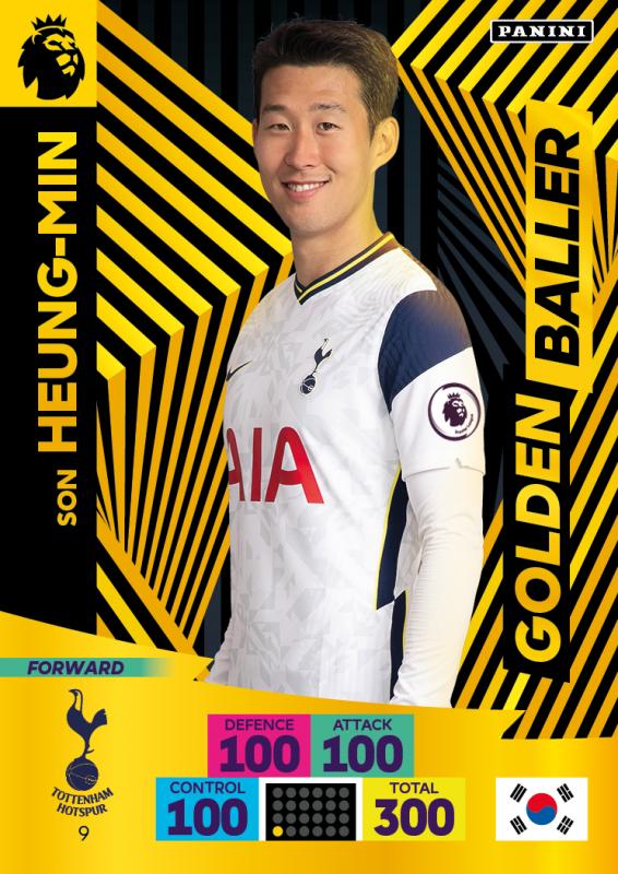 Panini Premier League Adrenalyn XL 2020/21 - Golden Baller - Heung-Min Son