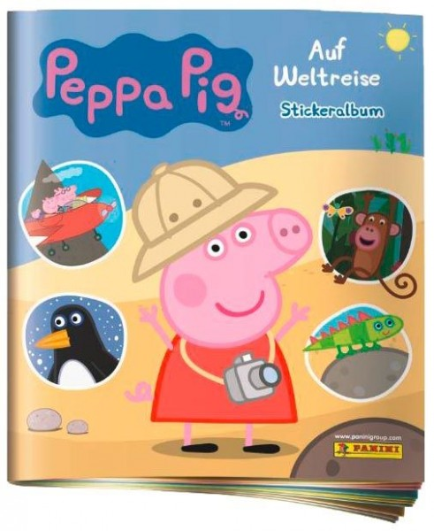 Peppa Pig Stickerkollektion - Auf Weltreise - Album