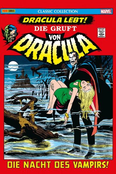 Die Gruft von Dracula: Classic Collection 1 - Die Nacht des Vampirs! Cover