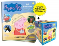 Peppa Pig Stickerkollektion - Auf Weltreise - Box-Bundle