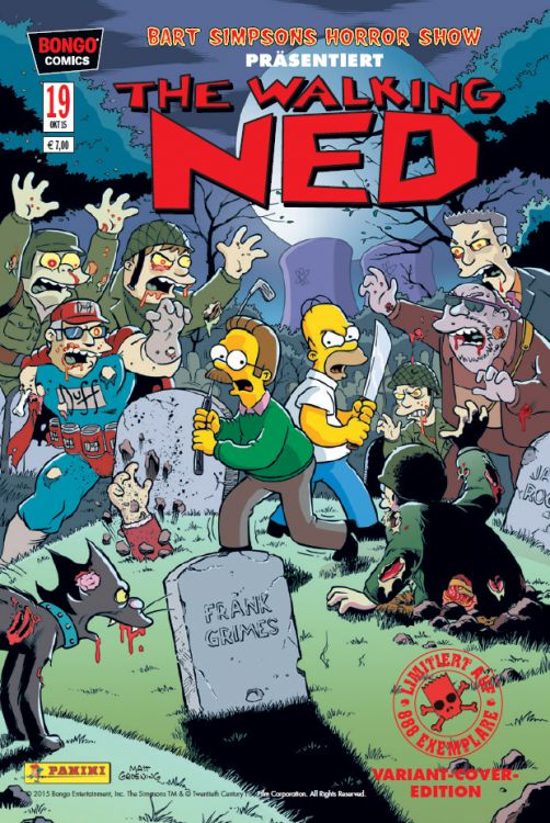 Bart Simpsons Horrorshow 19 Variant -...