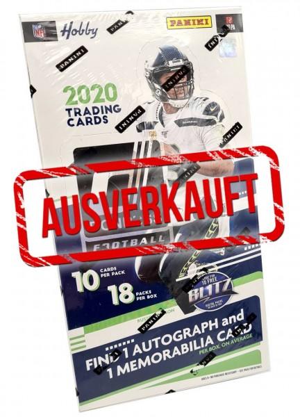 NFL 2020 - Donruss Football Trading Cards - Hobbybox