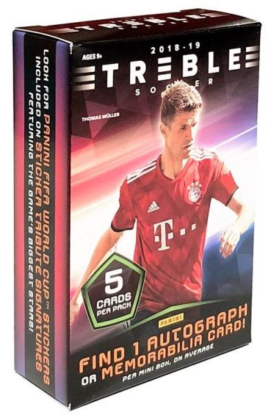 Panini Treble Soccer 2018-19 Trading Cards - Minibox