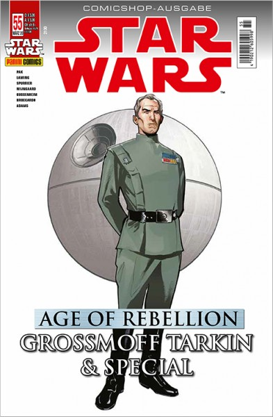 Star Wars 55: Age of Rebellion - Tarkin & Special - Comicshop Ausgabe Cover