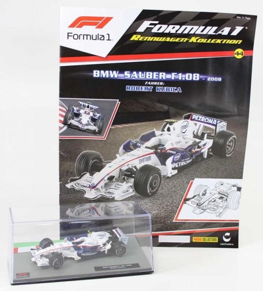 Formula 1 Rennwagen-Kollektion 44: Robert Kubica (BMW-Sauber F1.08)