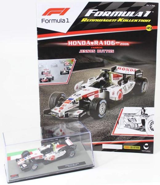 Formula 1 Rennwagen-Kollektion 49: Jenson Button (Honda RA106)