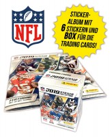 NFL 2019 Sticker & Trading Cards - Album